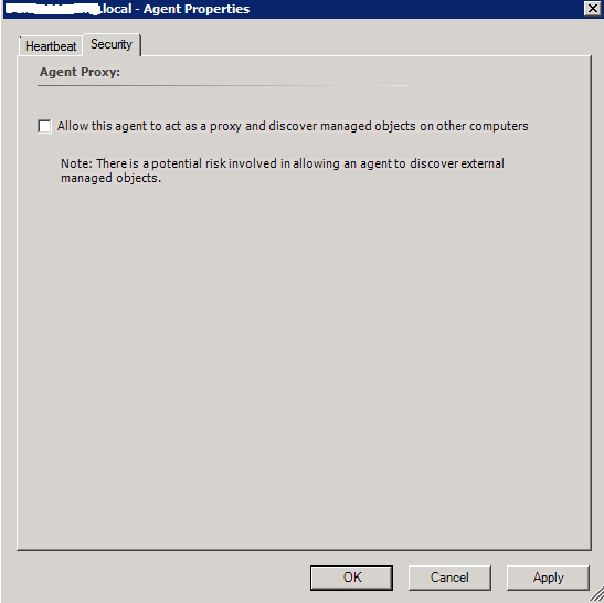 SCOM – Enable Agent Proxy Setting for all Installed Agents